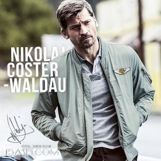AK男装 秋季新款军事轻复古刺绣夹克