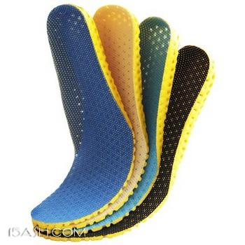 运动鞋垫 男女透气吸汗防臭 3双装