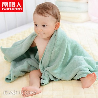 南极人 婴儿浴巾 75*150cm 券后29元包邮