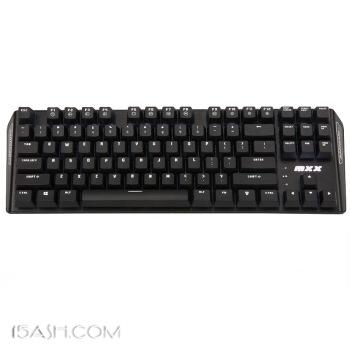 镭拓 MXX 87键背光黑轴机械键盘