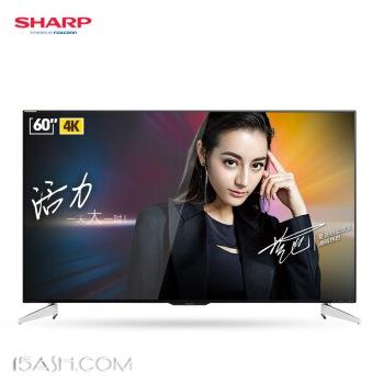 京东商城 SHARP夏普 60英寸4K超高清智能液晶电视机