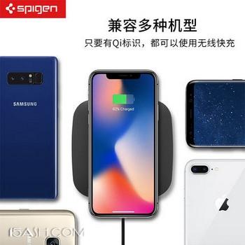Spigen 无线充电器 iphone8/plus iPhoneX 三星