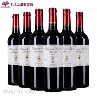 CMP巴黎庄园 经典款 原瓶进口赤霞珠干红葡萄酒