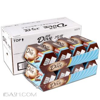德芙巧克力巧丝整箱144支