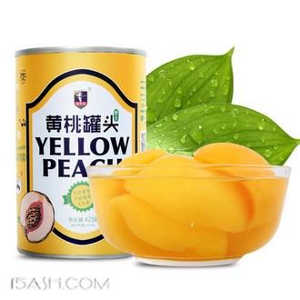 Iceman 爱斯曼 糖水黄桃罐头