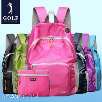 GOLF/高尔夫 男女款 可折叠 双肩轻便书包