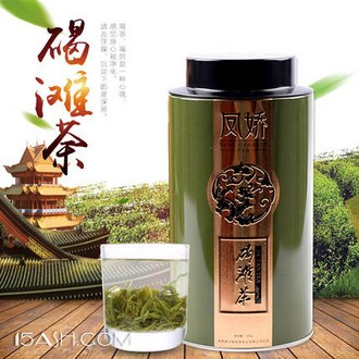 凤娇 沅江古茶2017新茶毛尖绿茶100g罐装