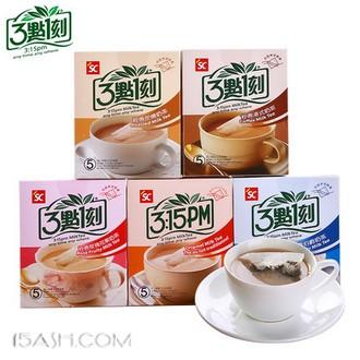 3点1刻 奶茶五口味组合 100g*5盒 共25包