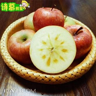 诗慕 新疆阿克苏冰糖心苹果 5斤