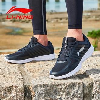 李宁新款正品跑步透气休闲运动鞋