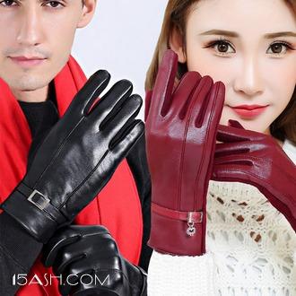 触屏手 冬季男女保暖触屏加绒手套