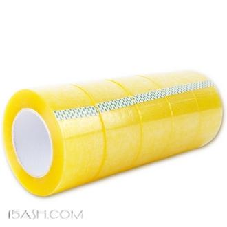 得力 高粘度透明打包胶带