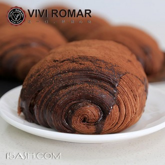 vivi脏脏包面包 法式巧克力夹心手工奶酪包 券后34.8元包邮