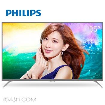 PHILIPS 飞利浦 55PUF6092/T3 55英寸 4K 液晶电视 2688元