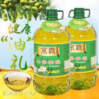 京露 山茶橄榄5L 井冈山茶籽植物调和油家用油