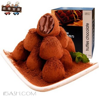 依蒂安斯 松露形巧克力8口味400g