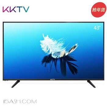 KKTV U43 43英寸4K超高清 HDR 64位高性能处理器