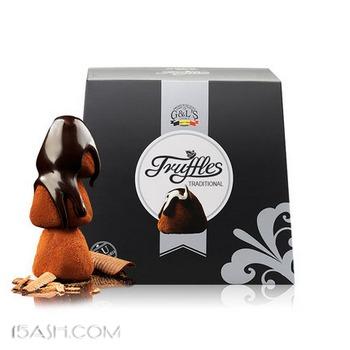 德菲丝 纯可可脂 松露形巧克力1kg