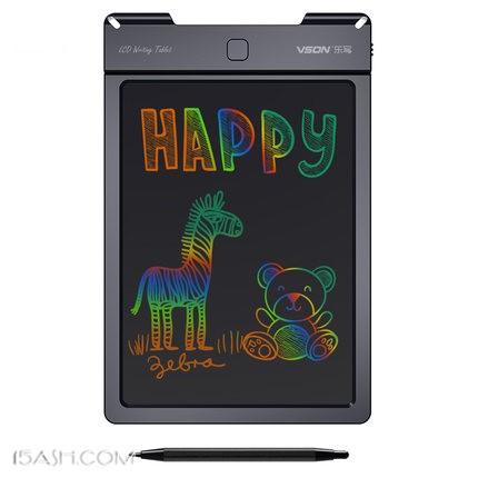 VSON乐写彩色液晶手写板绘画涂鸦电子板9寸