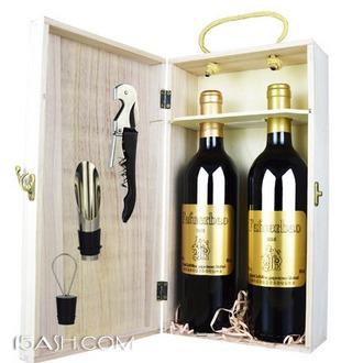 法国进口 法夫尔堡 干红葡萄酒 750ml*2支装