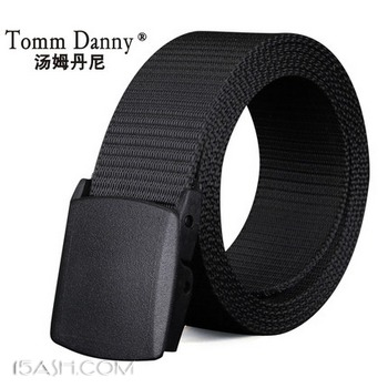 汤姆丹尼 帆布腰带 券后9.9元包邮