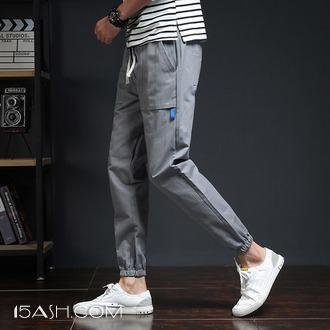 冬季裤子男士运动裤加绒加厚韩版