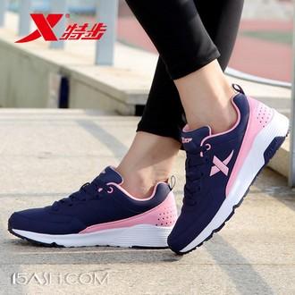特步 女鞋秋冬季新款运动鞋