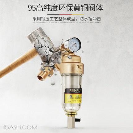 德国 特洁恩 自来水前置过滤器TJN-SF-DF55 经济版