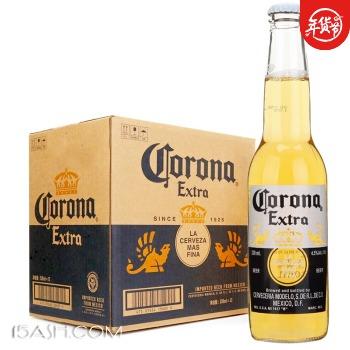 科罗娜 啤酒 330ml*12瓶 整箱