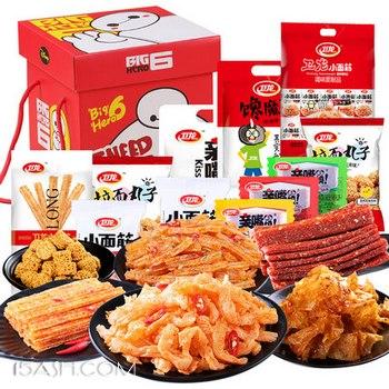卫龙 辣条零食大礼包640克