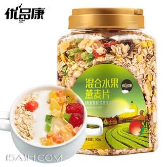 优品康 混合水果燕麦片500g