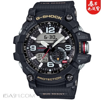 CASIO/卡西欧 G-SHOCK GG-1000-1A 男士运动手表