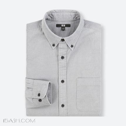 UNIQLO优衣库 男装灯芯绒衬衫(长袖)401452