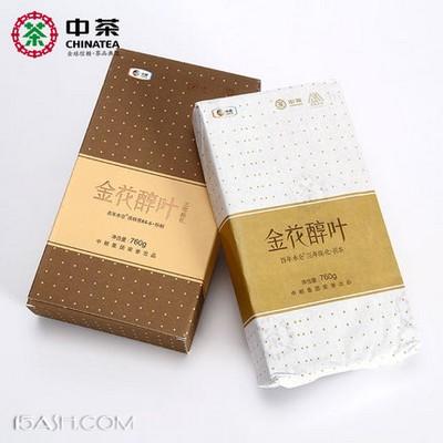 中茶牌 安化黑茶 3年陈金花醇叶760g