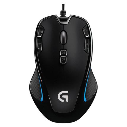 罗技G300s角色扮演网游光电鼠标