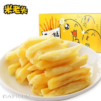 米老头 鲜切薯条90g*3盒