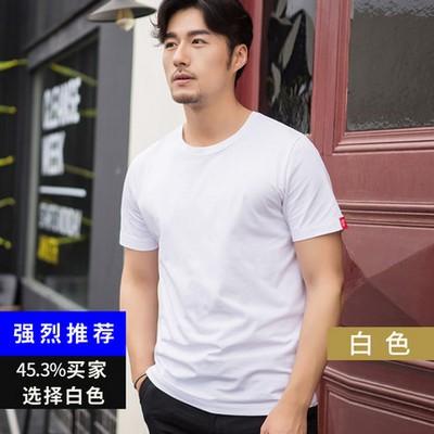 比菲力2018夏季新款纯棉短袖t恤