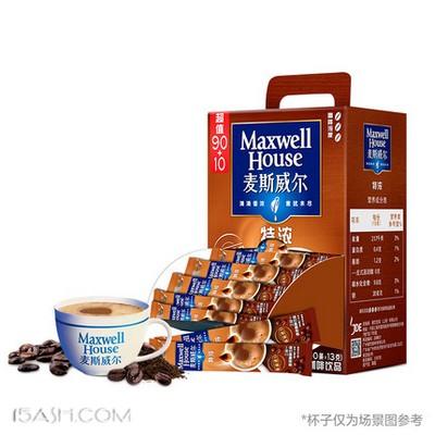 麦斯威尔 特浓三合一速溶咖啡 110条