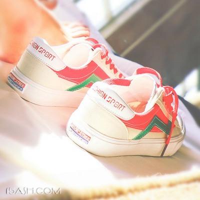 夏日里我想要的一双复古港味帆布鞋
