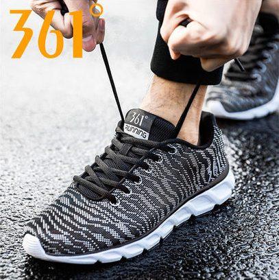 361度男鞋透气跑鞋休闲鞋