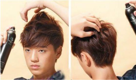 每天打理头发