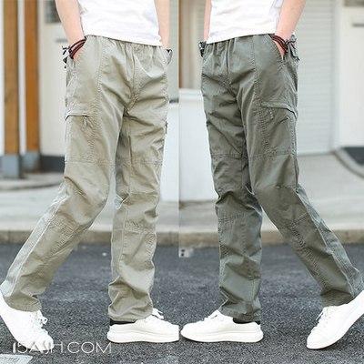 英势 夏季薄款快干多袋工装裤