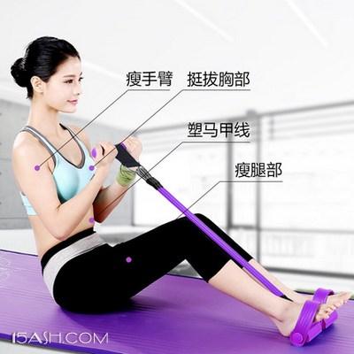 索维尔 脚蹬拉力器 仰卧起坐健身器