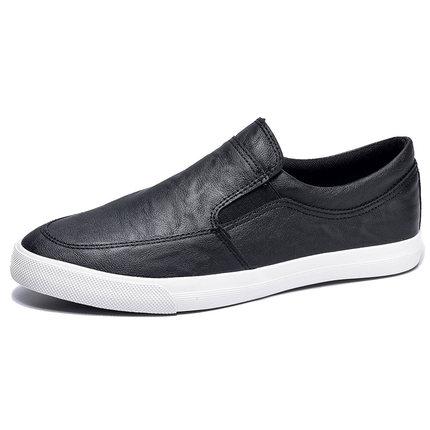 闪步 一脚蹬懒人板鞋春季休闲鞋