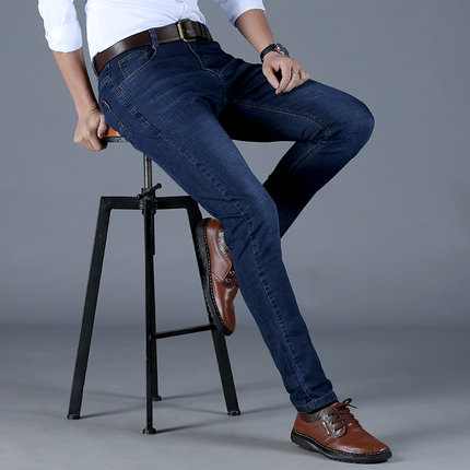 金盾 男士春夏季直筒牛仔裤