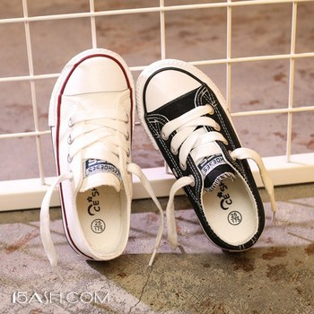 CESHOESES 男女童帆布鞋