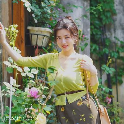 针织衫与长裙