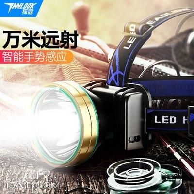 探露 TL-V18 强光充电LED头灯