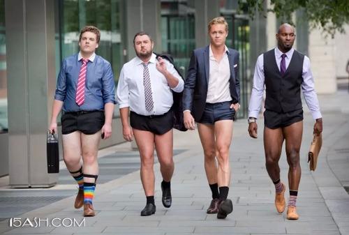 男生身材各异