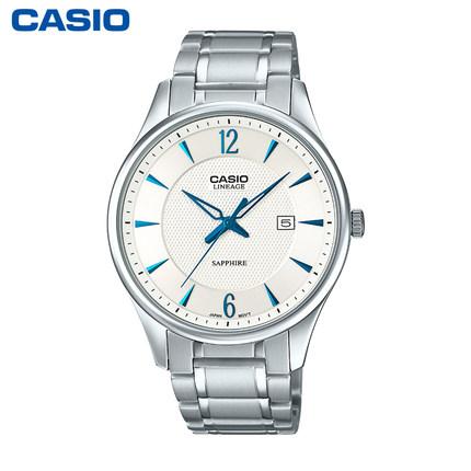 CASIO Analogue防水皮带男女手表